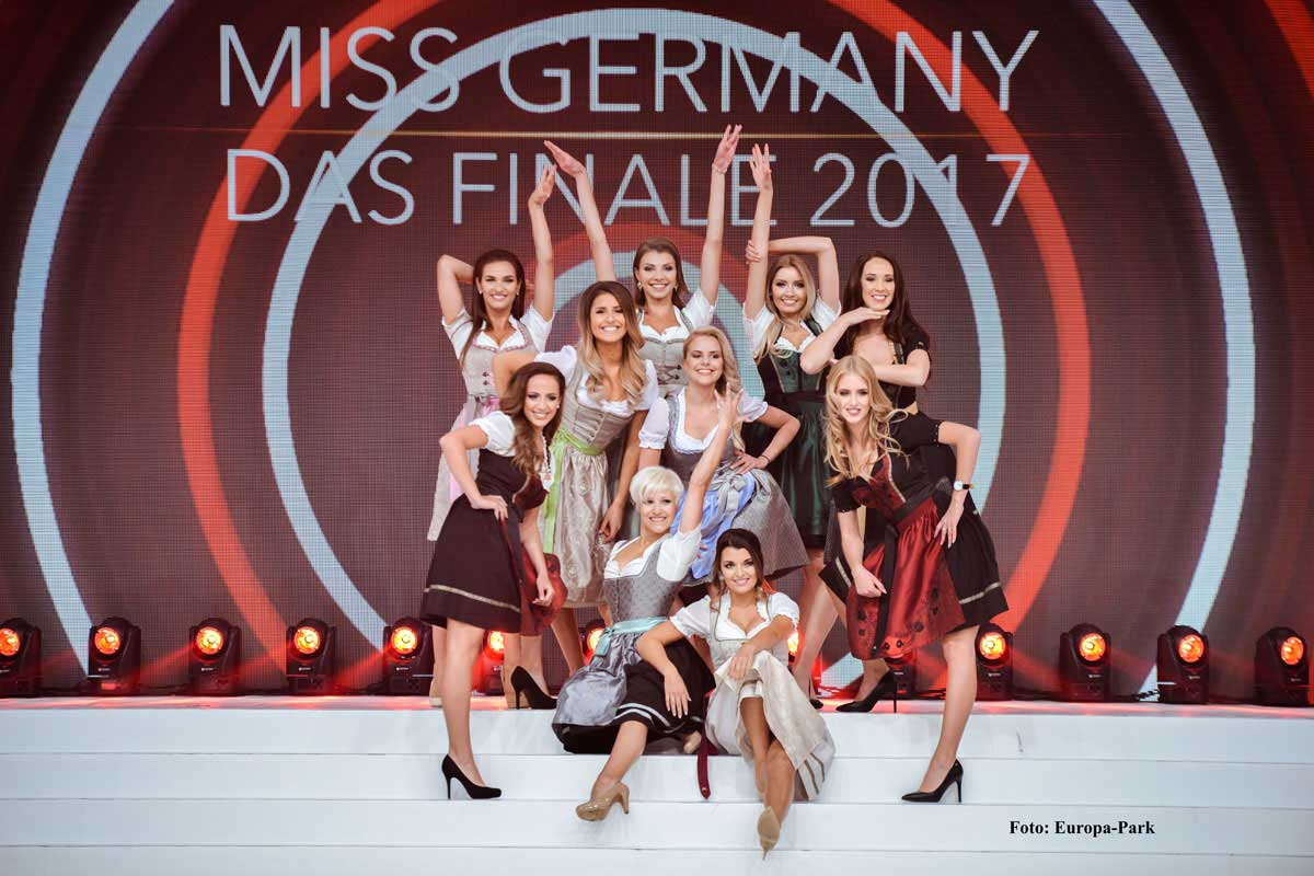 Miss Germany Finale 2017 Dirndl Opening