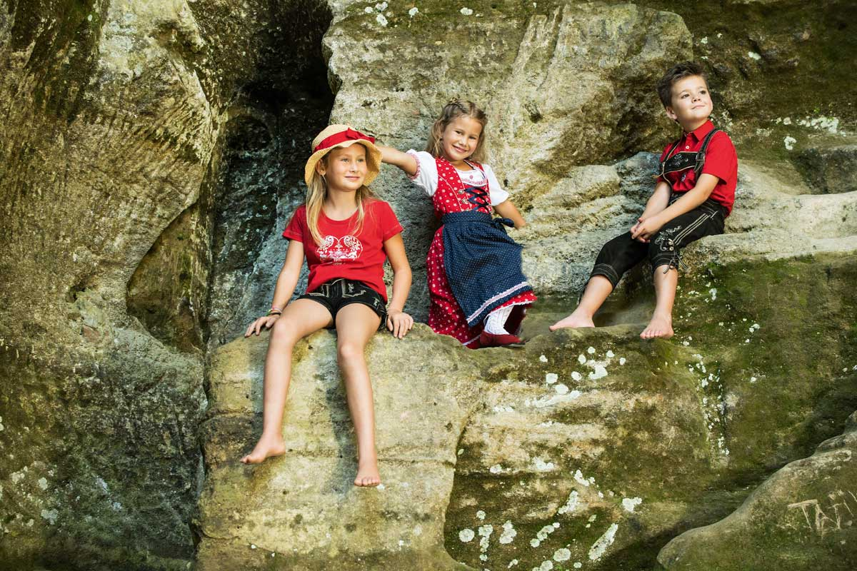 Tracht Kinder traditionell